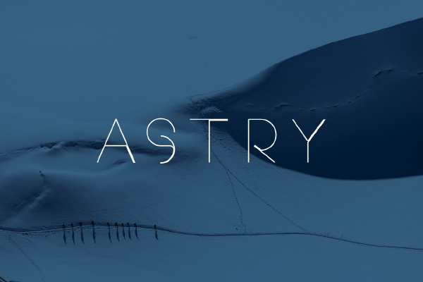 Astry free Sans serif typeface