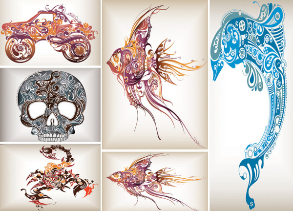 tropical fish | graphichive, Powerpoint templates
