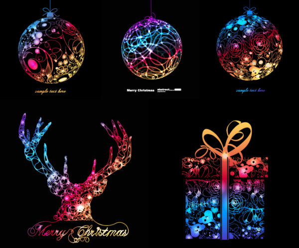 Vector Graphics Christmas Symphony