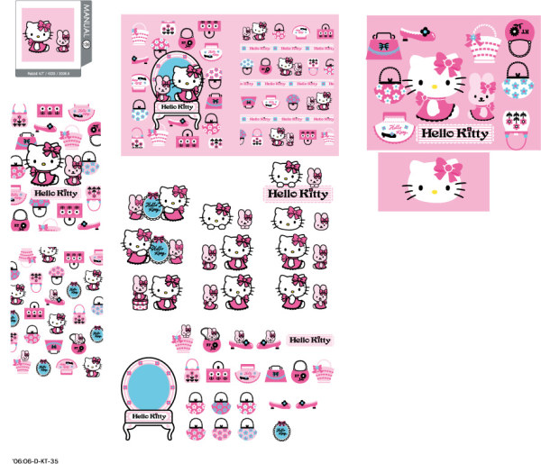 hello kitty official Vector 139