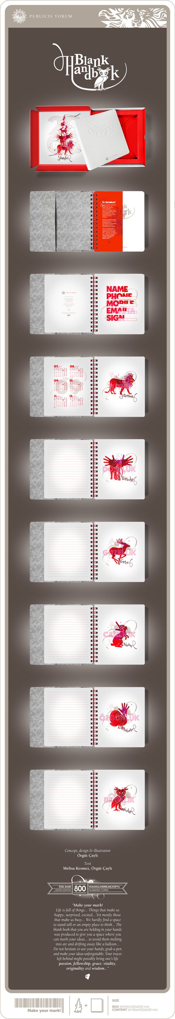 Notepad beautifully designed to appreciate