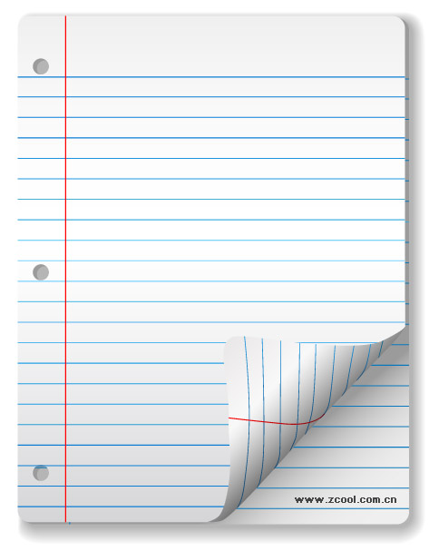 Vector Blank Notebook Paper Material| Graphic Hive: graphichive.net/Free/Graphics/Download/16255