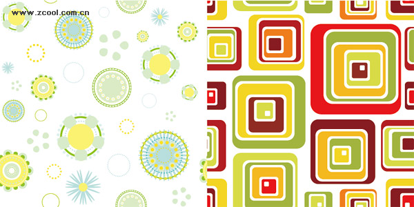 Fashion background vector graphics material