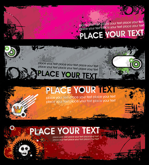 Free Web Banner Templates. website banner template royalty free ...