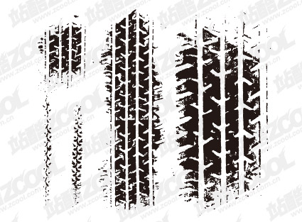 tire marks vector graphic hive