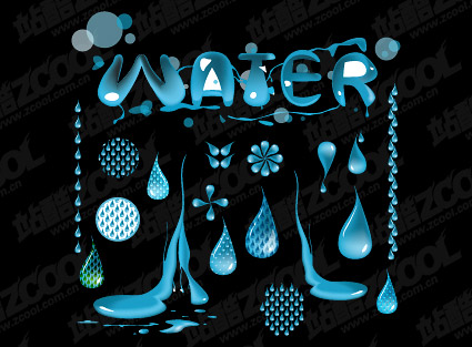 water vector | graphichive, Powerpoint templates