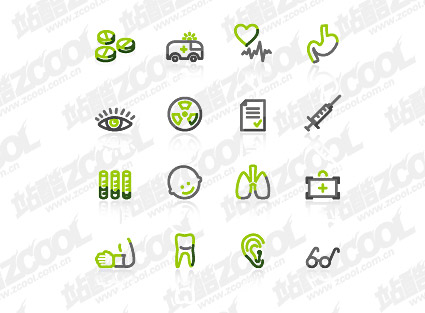 Simple lines vector graphics material