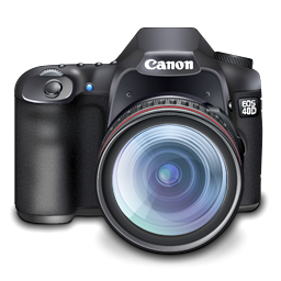 Canon 40D Digital SLR Camera Icon Png| Graphic Hive