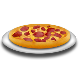 Cake Pizza Drinks Icon Png Graphic Hive