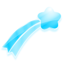 Star Series lovely transparent PNG icon