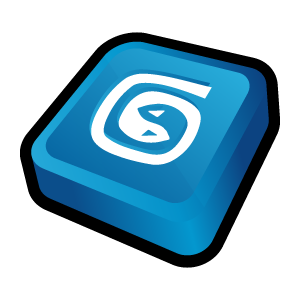 Three-dimensional computer cartoon icon transparent PNG-2