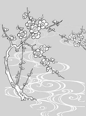 Line Drawing Flowers Blossom Flowers Healthy