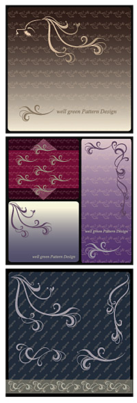 Vector background patterns-1