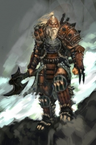 Diablo III - the original painting characters, scenes set to enjoy