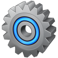 Blue-grey charm Series systems icon transparent PNG