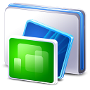 bluewhales series of transparent PNG icon