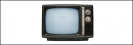 Retro TV psd material-3