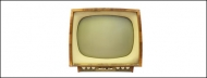 Retro TV psd material-2