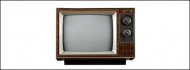 Retro TV psd material-1