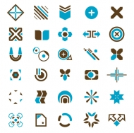 Vector trend of design elements-50