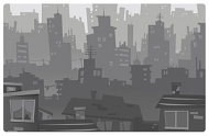 Vector material cities in Pictures