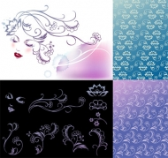Vector background patterns-38