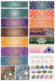 Vector background patterns-25