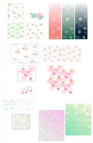 Vector background patterns-24