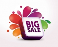 Big Sale Vector Graphic