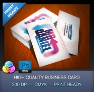 Free Developer Business Card Template ( Psd )