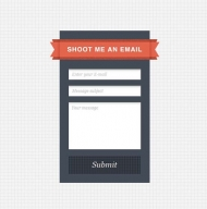 Simple Sidebar Contact Form – Freebie