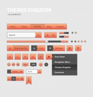 UI Elements – Freebie