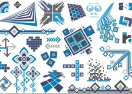 Vector design elements tide -44