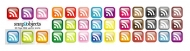 rss Subscribe to the crystal texture of the small icon (the