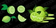 Lime Vector material