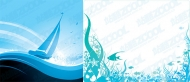 Water Surface & Underwater (Vector)