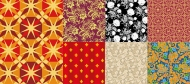 7 Vector background patterns and practical material