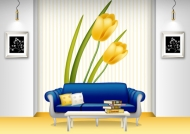 Fashion indoor home vector material -1