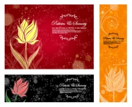 Dream flower Vector material -12