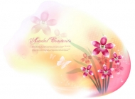 Dream flower Vector material -13