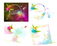 Dream flower Vector material -16