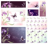 Dream flower Vector material -17