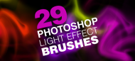 29 high-definition lighting effects brushes