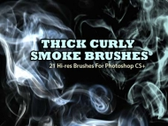 HD smoke ps brushes