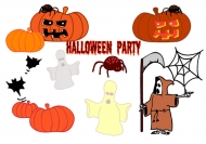 Halloween Theme Vector material