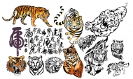 Tiger Vector material