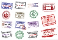 Postmark Vector material