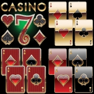 Deluxe Poker Vector material