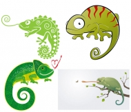 Chameleon Vector material