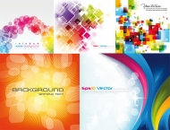 Cool Colorful Background Vector